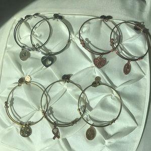 Angelica charm bracelets